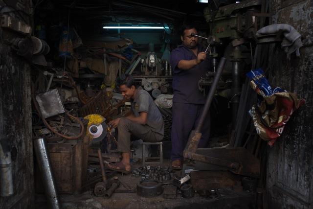 Metal workers. Mumbai